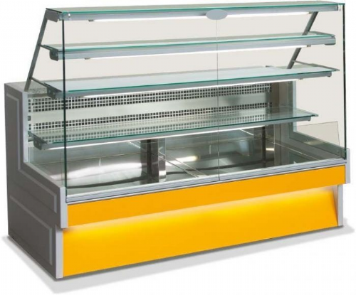 Sterling Pro RIVO100 Patisserie Serveover Counter, 1m / 1.48m² Deck